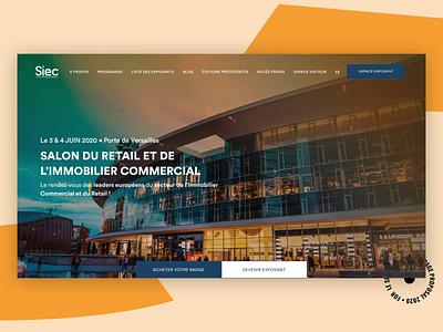 🖥• Homepage branding design parallax animation interaction ui