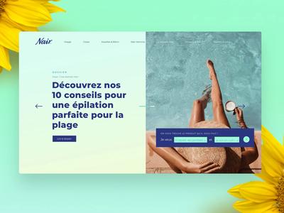 Nair • Homepage 👙