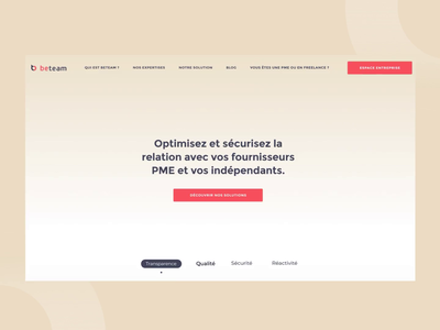 Beteam Homepage 🖥