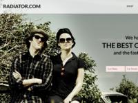 Radiator.com Responsive Site 2 Comps for Landing