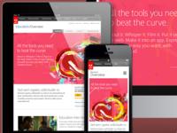 Adobe.com/edu Responsive Design