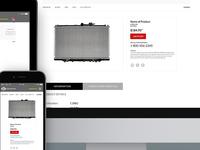 Radiator.com Website-Responsive