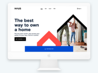 Haus website--UX design and Visual Design consulting