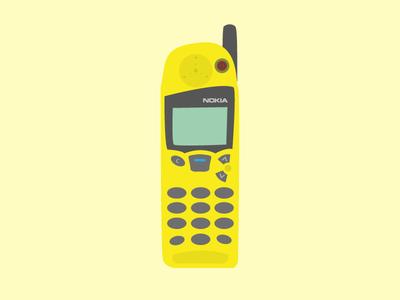My first phone - Nokia 5110