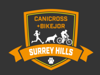 Surrey Hills Canicross + Bikejor Logo