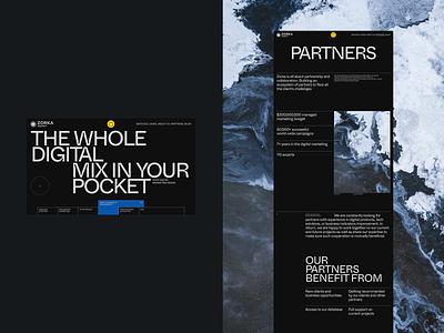 Zorka ux web ux design uiux ui uidesign daily 100 typography ui  ux design dribbble