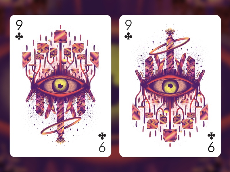 Big Brother branding merch illustration surreal abstract playing card playing card dystopia society grit texture eye big brother