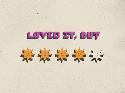 Not Quite There Social Club rating rate love music poster smile texture vintage branding sticker illustration expectation arctic monkeys indie social club starts 4 out of 5