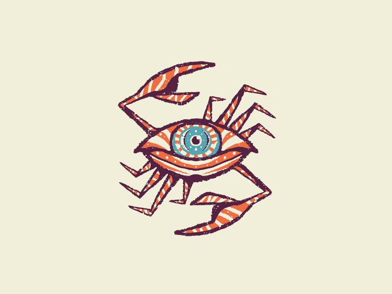 Eye-crab