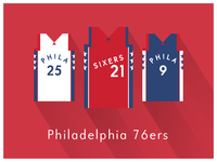 NBA Fan Art: Philadelphia 76ers