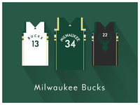 NBA Fan Art: Milwaukee Bucks