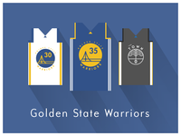 NBA Fan Art: Golden State Warriors