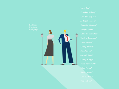 The Trumps: A Well Oiled-Machine clean graphic art illustration minimal digital art illustration of the day flat illustration trump commentary vector art minimal design illustrator graphic design