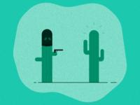 Cactus-on-Cactus Crime