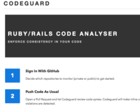Codeguard : ruby code analyzer