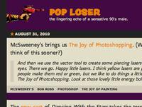 Pop Loser Header