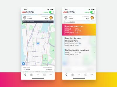 GoCatch Driver App • Home
