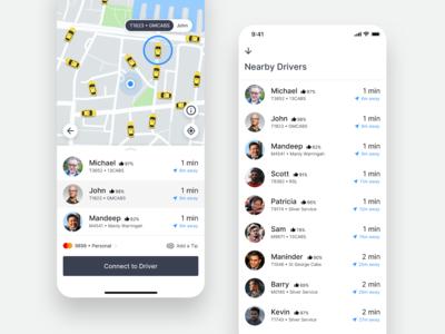 GoCatch Passenger App • Taxi Rank (Concept)