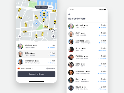 GoCatch Passenger App • Taxi Rank (Concept) network rank vehicle travel app taxi booking app taxi route ridehailing mobility minimal map transport rideshare maas ios chauffeur car booking android