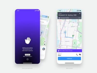 GoCatch Passenger App • Wave (Concept)