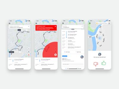 GoCatch Passenger App • In-Trip (Concept)