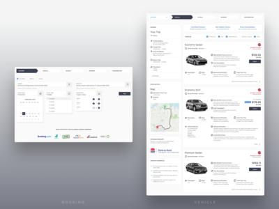 GoCatch Web Booking Flow • Details & Vehicles