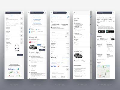 GoCatch Web Booking Flow • Mobile