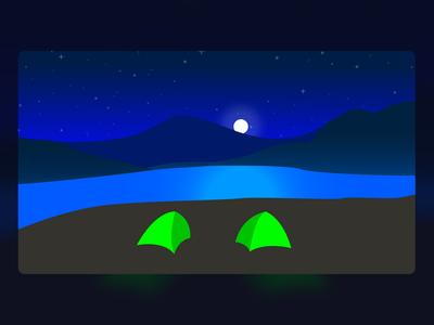 Night Camp Site
