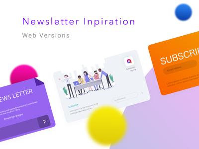 Newsletter Inspiration for Websites