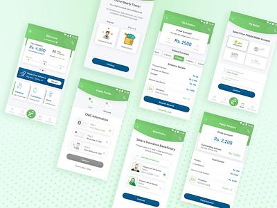 Tez Financial App Redesign mobile wallet app wallet product design payment fintech finance ui desgin invision figma sketch android app design android app android app design ux app ui