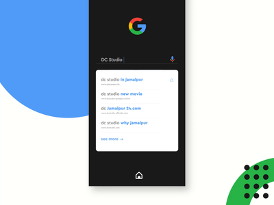 google search interaction app motion ux ui products design typography home user experience user interface mobile app design simple google search google interaction design interaction interface animated app animation