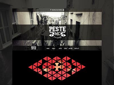 Peste mc - Official Website music website comics napoli adobe muse contest website winner napoli rap hip hop neapolitan rap partenopeo rap napoletano peste mc