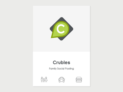 UI/UX Design - Crubles winner smau smau web application product designer brand identity uiux design family school car pooling family social pooling crubles