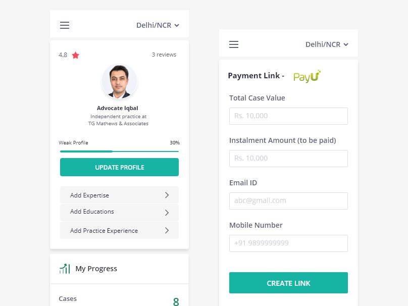 Dashboard Mobile View ui  ux app design responsive design