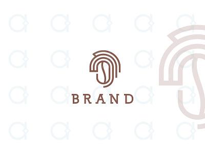 Coffee Horse Logo brand identity branding design logo restaurant resto bar drink beverage coffeeshop shop lines line cappuccino espresso latte bean head horse coffee