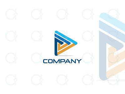 Video Logo design logo digital application apps app button play 3d modern multimedia media production entertainment studio film cinema movie video