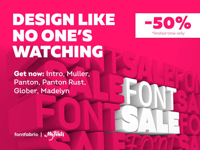 Fight the home office blues with a NEW FONT! 🤩