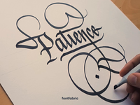 Slowing down letters creative fontfabric typography inking pen and ink calligraphy and lettering artist calligraphy artist lettering calligraphy