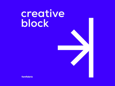 Creative B L O C K S type animation type poster fontfabric aftereffects grids grid layout swiss design swiss poster poster design kinetic typography kinetic type typography