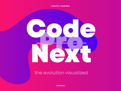 The story behind Code Next visualized web deisgn design tools visual design graphic design font design type design display type fonts geometric font geometric design sans serif font sanserif display typography display font type typeface font fontfabric typography