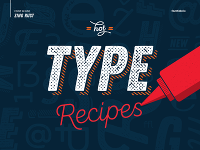 🌶 Let's get spicy 🌶 branding creative font in use font inspiration design inspiration packaging design display font fonts free font textured font type typeface font fontfabric typography