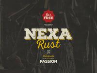 Nexa Rust free font family