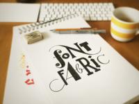 FontFabric - mixed typography
