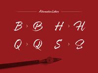 Resphekt Free Font - some nice alternates