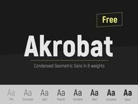 Acrobat Free Font
