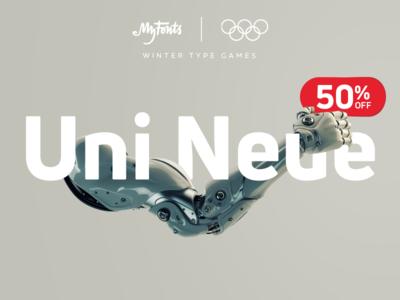 Uni Neue—50% OFF