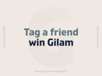 Tag a Friend and Win Gilam