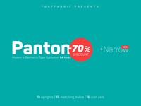 Panton Narrow is released!
