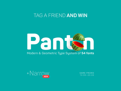 Tag a Friend and Win Panton