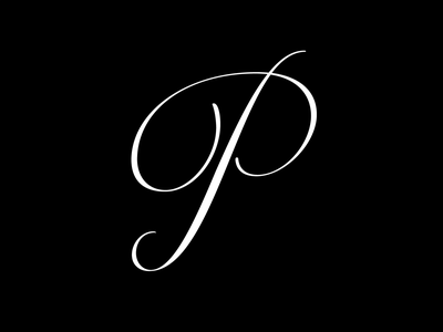 36 Days OF Type - P calligraphy 36days-p 36days 36daysoftype illustration design lettering letter typography fontfabric font typeface type